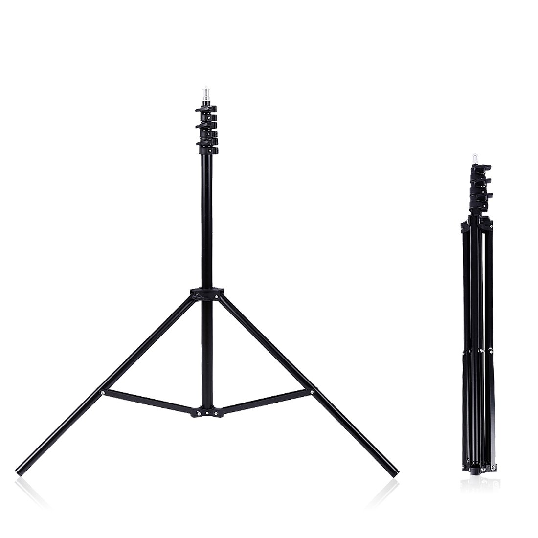 Cheap Konseen 240cm 94inch Portable Flexible Tripod Stand Jumbo Lightweight Aluminum Alloy Phone Tripods Legs With