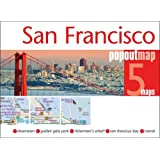 San Francisco PopOut Map - handy, pocket size pop up city map of San Francisco (PopOut Maps)