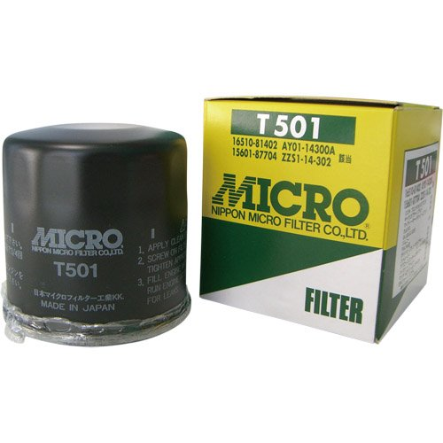 Japan Import MICRO T501 Oil Filter for Suzuki All Carry Truck Jimny Every Mazda Scrum
