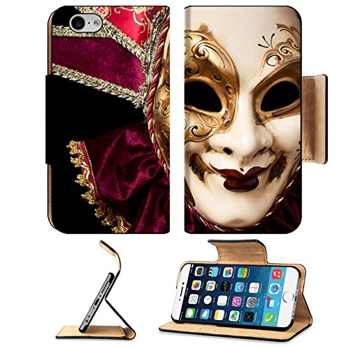 [MSD Premium Apple iPhone 6 iPhone 6S Flip Pu Leather Wallet Case iPhone6 IMAGE ID 19315807 Carnival in Venice image with ample copyspace Isolated On] (Venice Carnival Costumes Ideas)