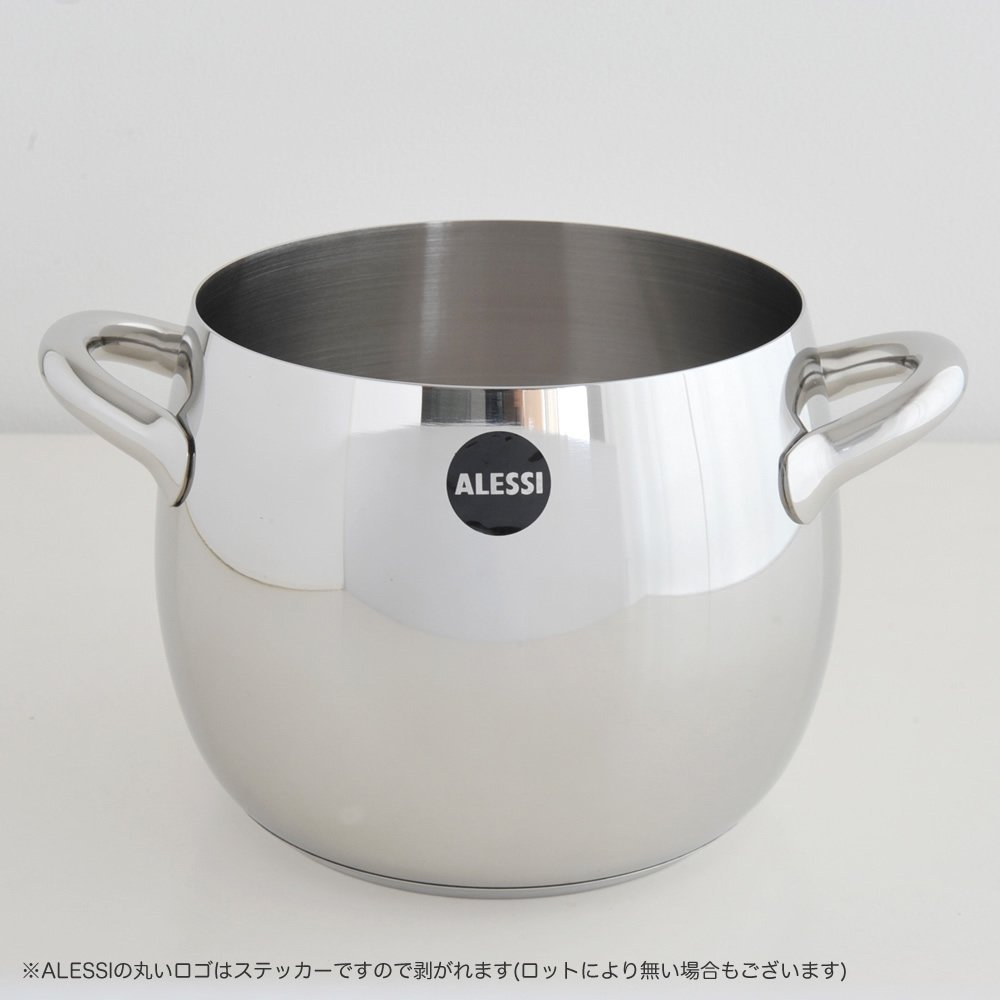 Alessi SG100/20 Stockpot in 18/10 stainless steel mirror polished,5-Quart, 30-Ounce by Alessi (Image #2)