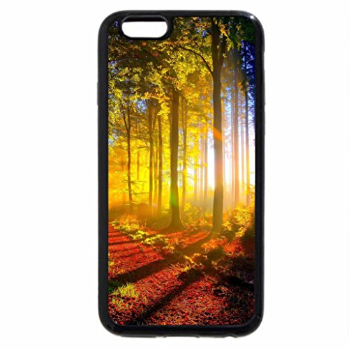 iPhone 6S / iPhone 6 Case (Black) Sunny Day on the Hill