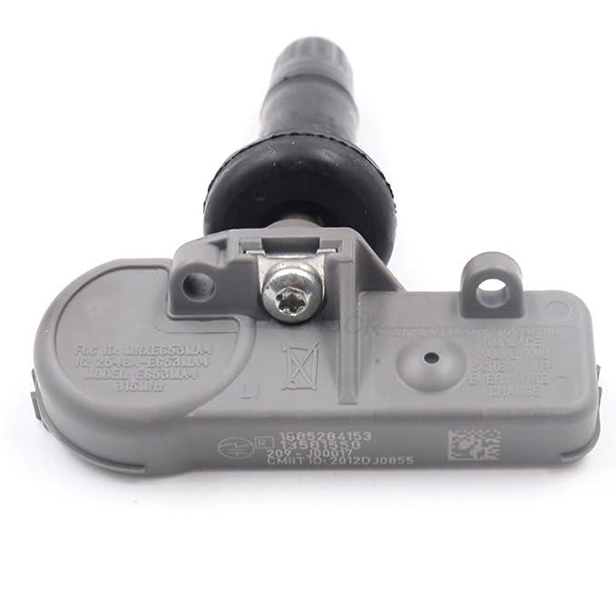 Alta calidad TPMS Sensor Neumáticos Sistema de Control de Presión 22854866 para Equinox Estantería SRX terreno: Amazon.es: Coche y moto