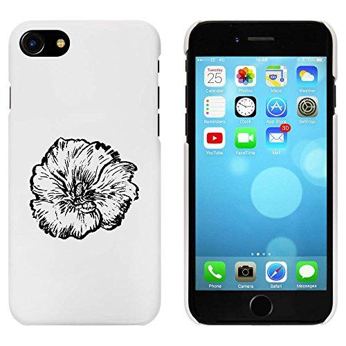 Blanc 'Fleur' étui / housse pour iPhone 7 (MC00066020)