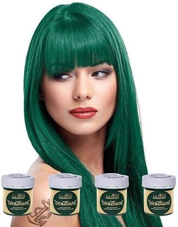La Riche Directions - Tinte para el cabello (4 unidades), color verde