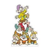 Advanced Graphics Dwarfs Group Life Size Cardboard Cutout Standup - Disney's Snow White and the Seven Dwarfs