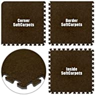 Best Floor Pad SoftCarpets Brown Total
