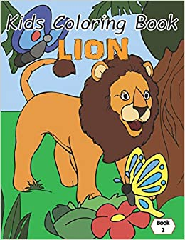 Kids Coloring Book Lion Coloring Books For Kids Wild