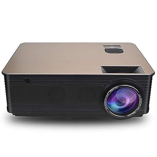 zyl Mini proyector, proyector Incorporado Bluetooth WiFi Proyector ...