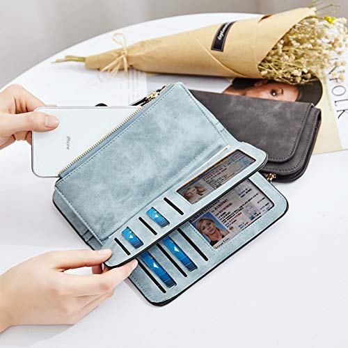 PARADOX (LABEL) Girls Bi-fold Card Holder Womens Purse Clutch Wallet