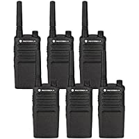 6 Pack of Motorola RMU2040 Two way Radio Walkie Talkies