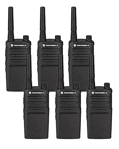 6 Pack of Motorola RMU2040 Two way Radio Walkie Talkies