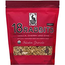 18 Rabbits Organic Felicitas Granola 11 oz