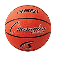 Deals on Champion Sports Official Heavy Duty Rubber Nylon Basketballs