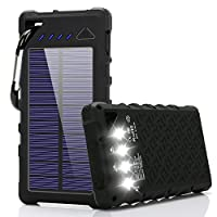 FKANT Solar Charger, 16000mah IPX7 Water...