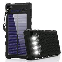 FKANT Solar Charger, 16000mAh Solar Phon...