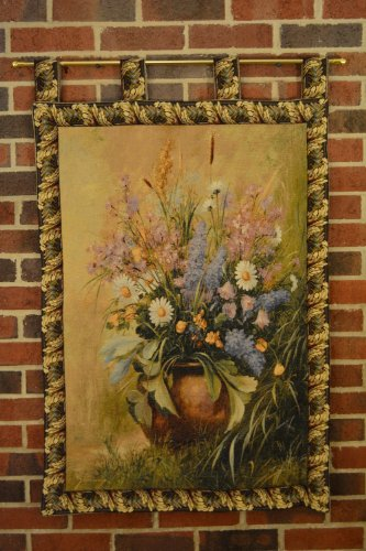 Tache  Woven Floral Beautifully Captured Tapestry Wall Hanging