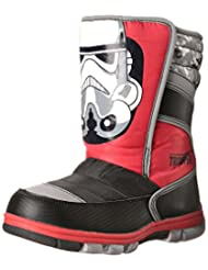 Star Wars Trooper Lighted Winter Boot With Lights, Black/Red/Grey