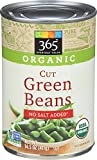 #6: 365 Everyday Value Organic Cut Green Beans, No Salt Added, 14.5 Ounce