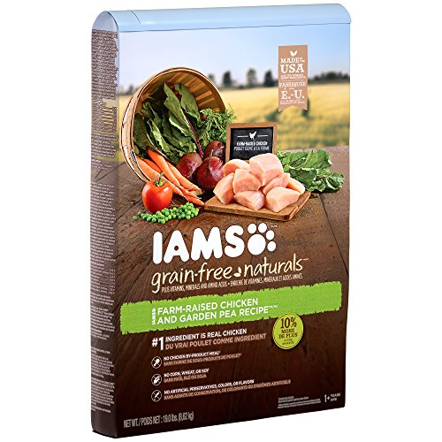 Iams Grain-Free Naturals Adult Chicken And Pea Recipe Dry Dog Food 19.0 Pounds Discontinued By Manufacturer