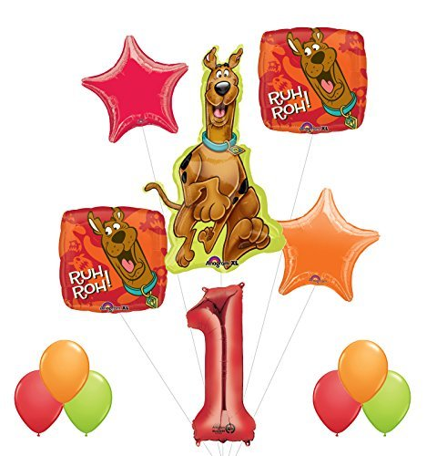 (Mayflower Products Scooby Doo 1st Birthday Party Supplies and Balloon Decorations)