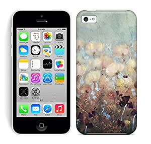 Best Power(TM) Hard Back Cover Skin Cases for iphone 5c, Unique Design of Enchanted Rose Painting Print Plastic Case, SnapOn, Protector