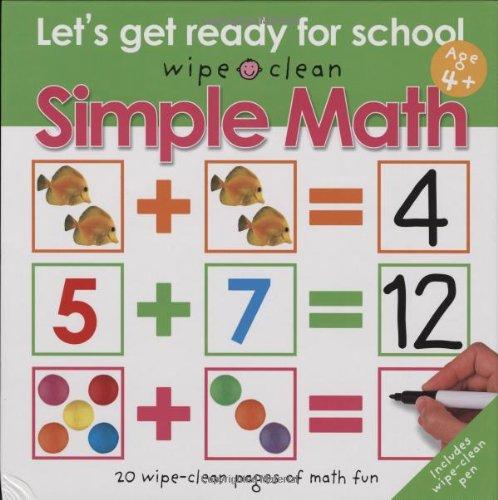 Wipe Clean Simple Ready School