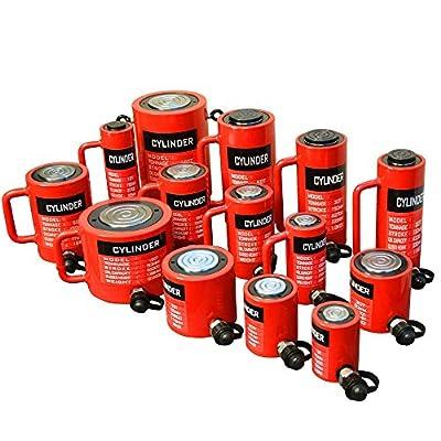 "10 Ton Hydraulic Cylinder 3.93"" (100mm) Stroke Jack Ram 150mm Closed Height"