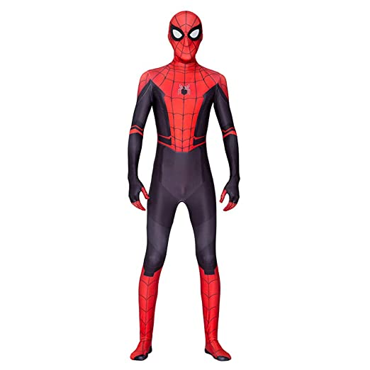 Spider-Man: Far from Home Spiderman Disfraz Cosplay Medias ...