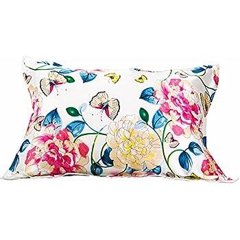 Amazon Com Ibrafashion Silk Pillowcase For Hair And Skin