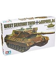 TAMIYA 35112 - 1:35 BW KPz Leopard 1A4 (1), modelbouw, plastic bouwpakket, knutselen, hobby, lijmen, plastic bouwpakket