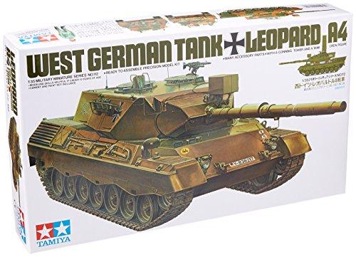 Tamiya Plastic Model 1: 35300035112German Army Leopard 1A4-1