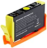 AmazonBasics Remanufactured Ink Cartridge Replacement for HP 364 (Yellow) Bild