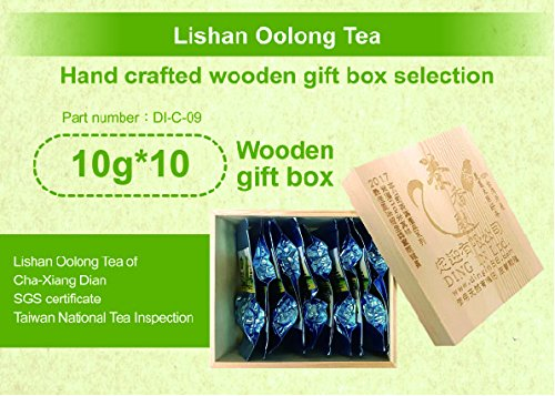 DING IN Lishan Oolong Tea Pine Box 10g10/box by Ding In ltd. (Image #6)