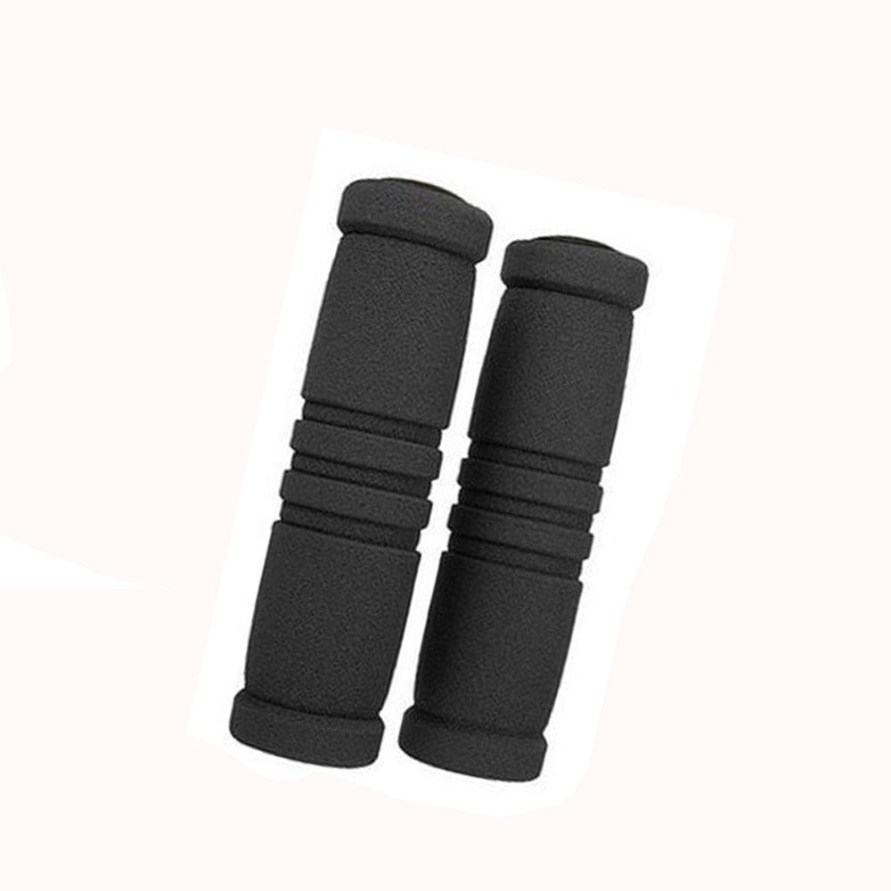 Clearance!!!Glumes 1 Pairs Bike Handlebar Grips, Non-Slip-Rubber Bicycle Grips Handle Bar Holding Grips, for MTB, BMX, Mountain, Downhill, Folding Bike