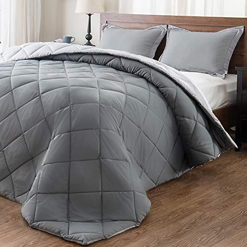 downluxe Lightweight Solid Comforter
