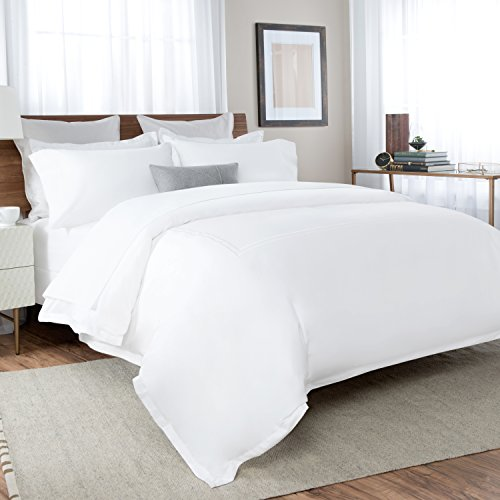 Briarwood Home 150 GSM Solid Percale Deep Pocket Bed Sheet Set, 100% Percale Cotton, Ultra Smooth & Soft Bed Sheets (Queen, - At Briarwood Stores