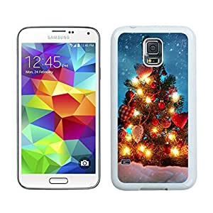 Customized Merry Christmas White Samsung Galaxy S5 Case 71