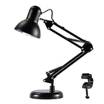 Lámpara mesa americana brazo largo E27Lámpara mesa giratoria ...