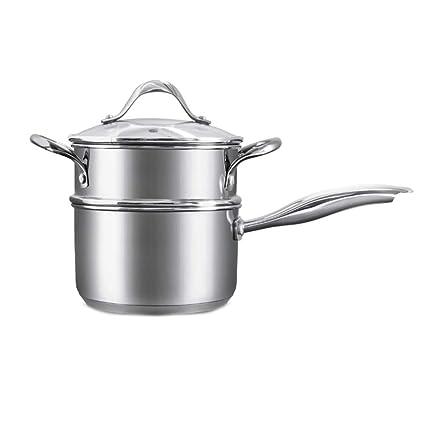 ZHANGAIZHEN-naiguo Olla De Leche Cazos para Leche Sartenes Y Ollas Cacerola Menaje De Cocina