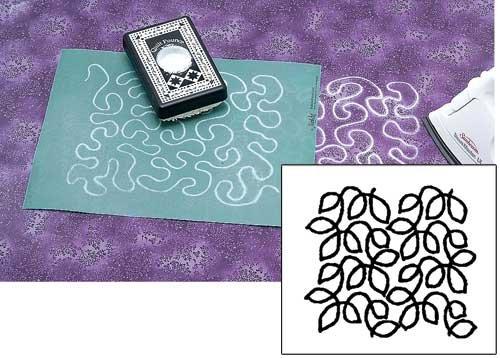 KeepsakeQuilting Meandering Leaves Stencil product image