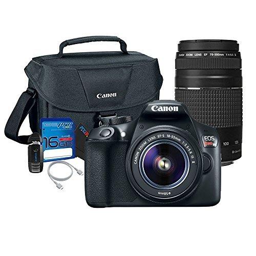 Canon T6 DSLR Camera Body w/ Canon 18-55mm Lens + Canon EF 75-300mm Review