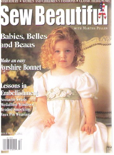Sew Beautiful Magazine, Issue No. 79, 2001