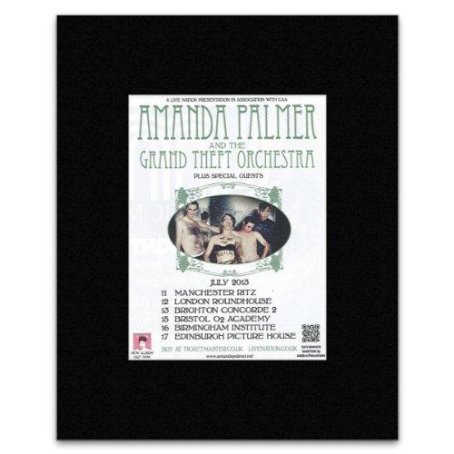 Amanda Palmer - & The Grand Theft Orchestra Mini Poster - 13.5x10cm