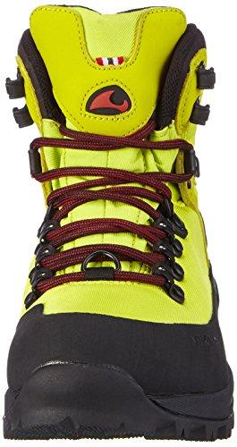 Zapatillas Trekking 8802 Amarillo de Textile Unisex Senderismo Viking Gaupe y Adulto Black Material sintético Lime de GTX Gelb 8X4XtwxT