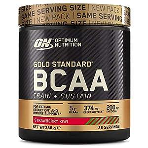 Optimum Nutrition Gold Standard BCAA, Acides Aminés en Poudre, Complément Alimentaire avec Vitamine C, Zinc, Magnésium…