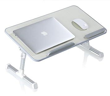Generic para ordenador, portátil plegable y ajustable soporte para portátil cama escritorio de pie,