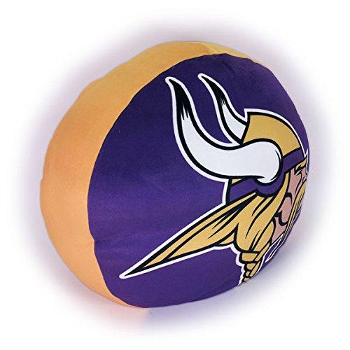 The Northwest Company NFL Minnesota Vikings Cloud Pillow, Purple, One Size