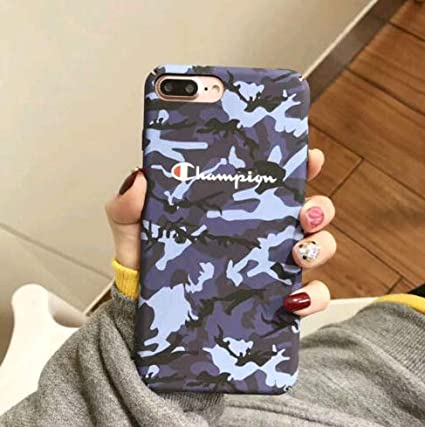 62125dc99c9d2c Image Unavailable. Image not available for. Color: FidgetGear Fashion  Couple Champion Marble Granite Slim Hard Case for iPhone X 6 6s 7 8