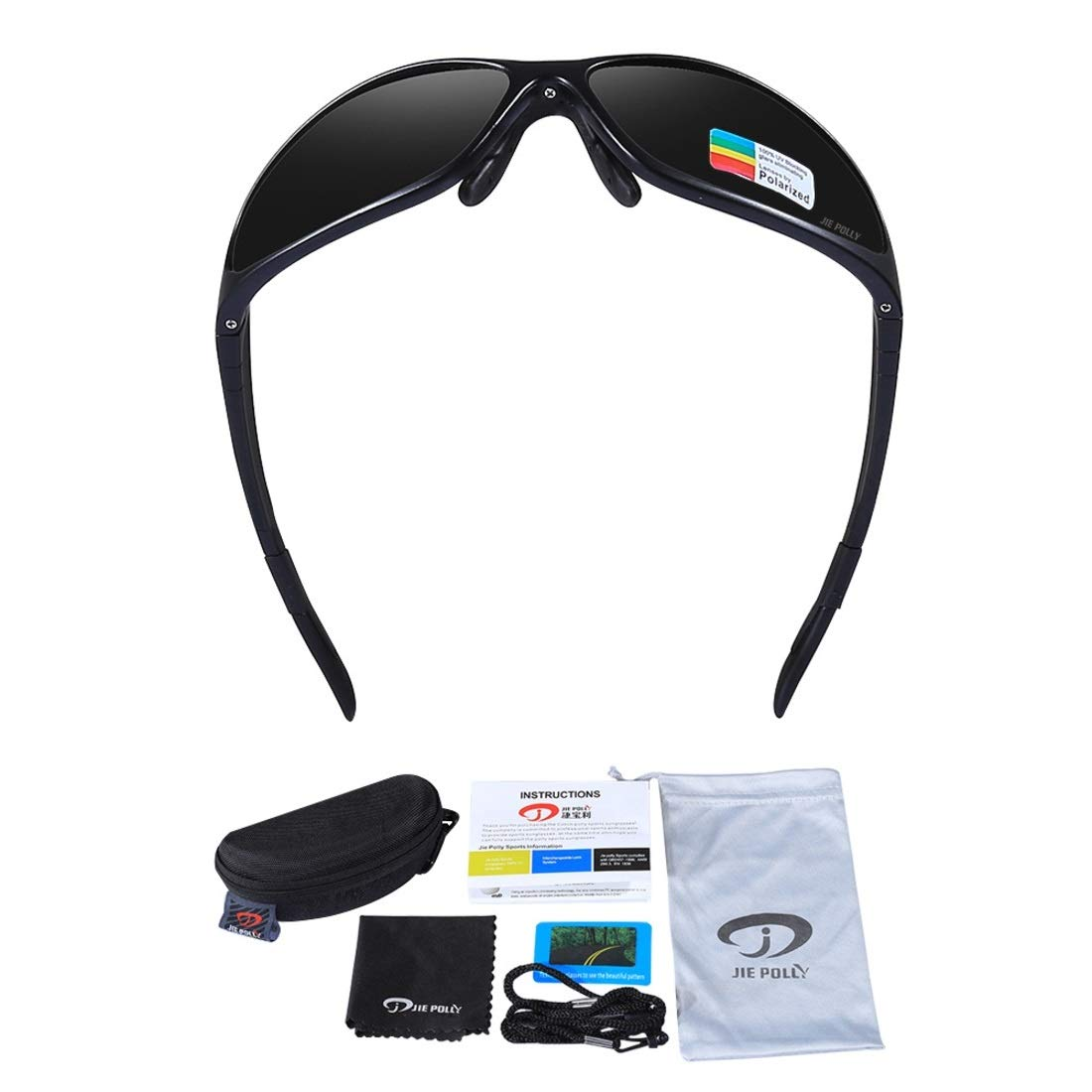 BAOYIT Riding Glasses Outdoor Sports Polarized Glasses Mountain Bike Riding Goggles for Women Men (Color : B) by BAOYIT